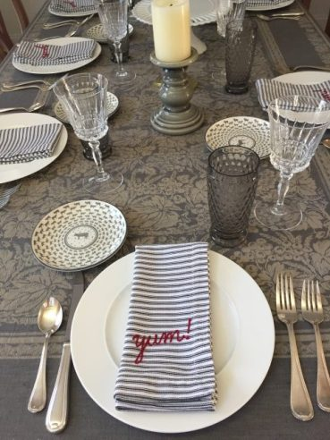 holiday hosting, Table Top Ideas