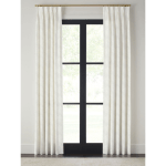 Riona Curtain Panel, Pinch Pleat
