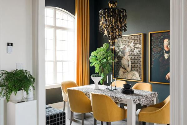 HGTV Smart Home 2019, Dining Room, Sherwin-Williams Online