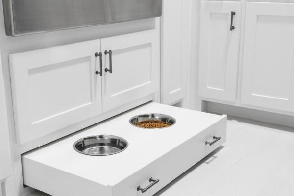 HGTV Smart Home 2019, Mudroom, Dog Food Drawer