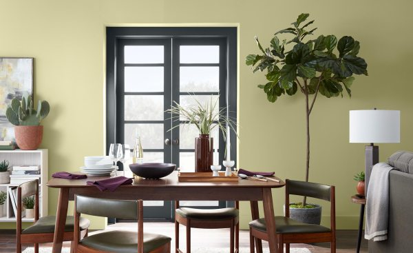 Behr 2020 COY, Back to Nature, Dining Room