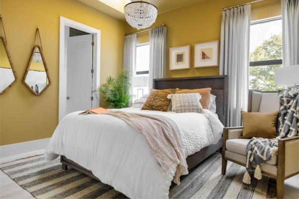 HGTV Smart Home 2021, Guest Suite, Mannered Gold HGSW2173