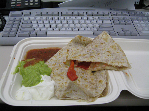 Busy Season Lunch at Your Desk