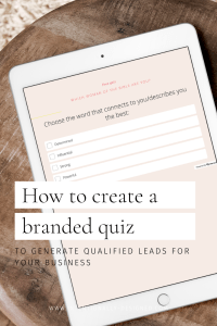 How to create a branded quiz on Interact
