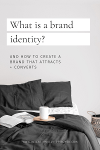 What is a brand identity