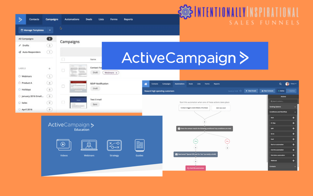Active Campaign Email Marketing Yotube
