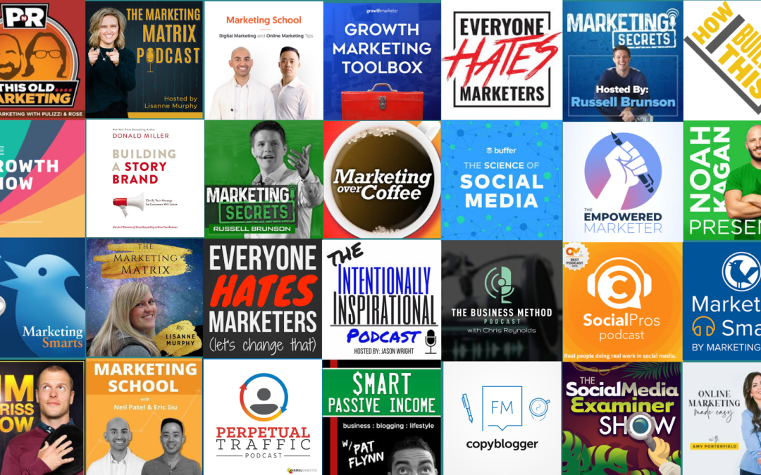 Marketing Podcasts to Listen to in2020