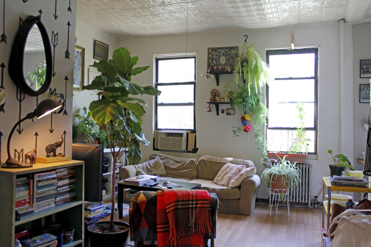 Margaret And Brandons 485 Sqft Brooklyn Apt