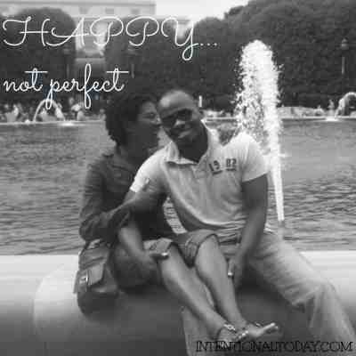 happy, not perfect