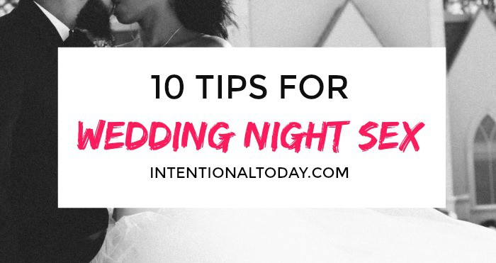 10 things every bride should know before her wedding night. Because wedding night sex doesn't have to mean wedding night stress!