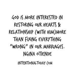 God is more interested in YOU