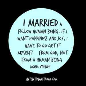 get it from God not your husband