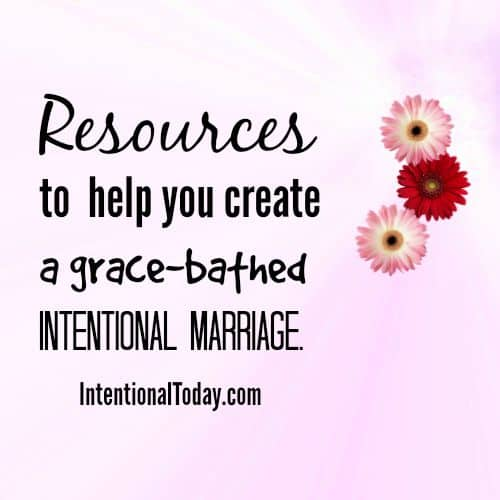 Resources for marriage