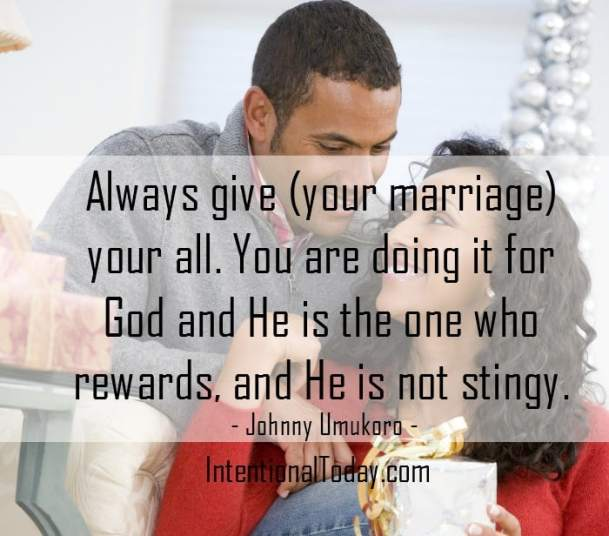 Always give your marriage your best! Here are 17 ideas on how to do just that!