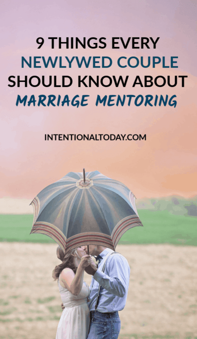 Newlywed mentoring - newlywed couples need to know these 9 things about marriage mentoring. Because a great community is important for the marriage