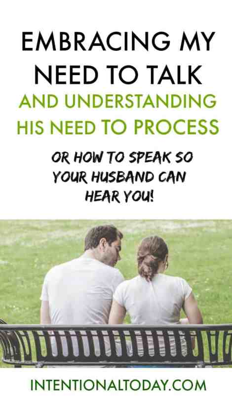 How to speak so your husband can hear you - tips and ideas to strengthen your communication