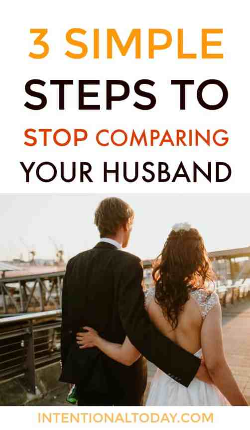 How to kill the giant of comparison in marriage - 3 simple steps