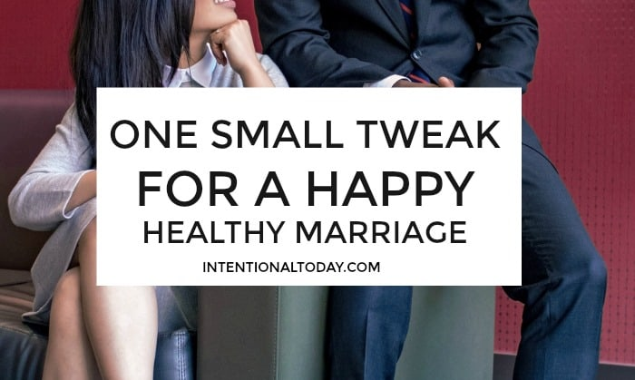 People don't want to hear a happy, healthy marriage is possible, they want to know how. Make this one adjustment to write a successfull marriage story