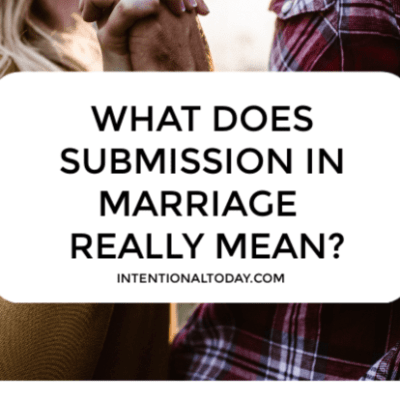 What Does Submission in Marriage Mean?