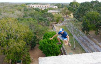 Uxmal archeological site, Yucatan, Mexico