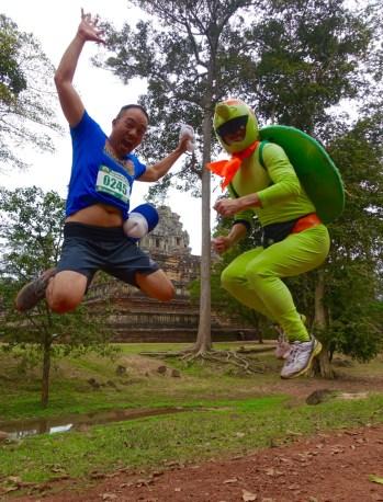 Angkor Wat Half Marathon, Siem Reap, Cambodia