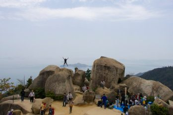 Miyajima, Japan Jumping Jedd | Intentional Travelers