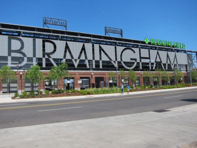 Regions Field, Birmingham, AL | Intentional Travelers