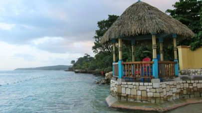 Private beach, Jamaica
