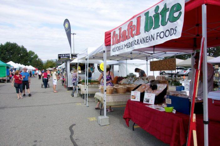 Kelowna Farmer's Market, BC   Intentional Travelers