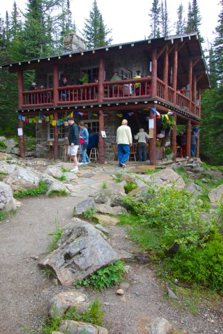 Plain of 6 Glaciers tea house, Lake Louise   Intentional Travelers