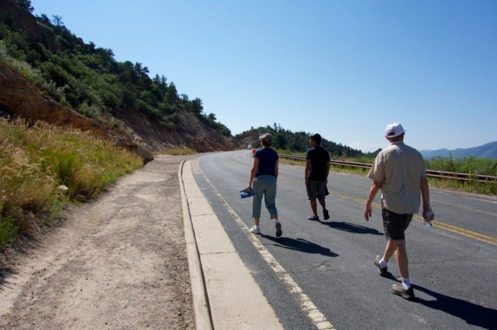 Dinosaur bones and tracks near Denver | Intentional Travelers