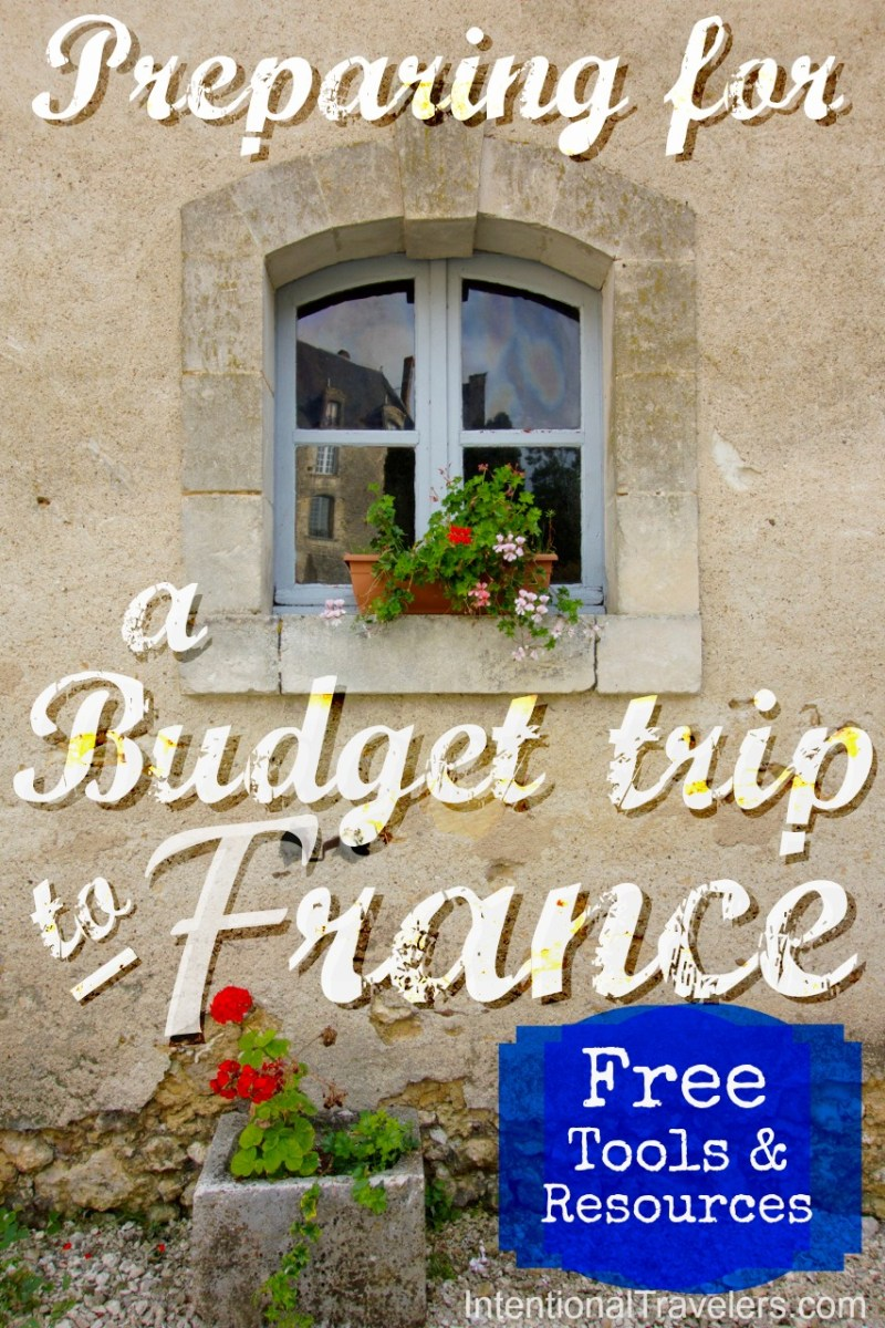 Preparing for a Budget Trip to France