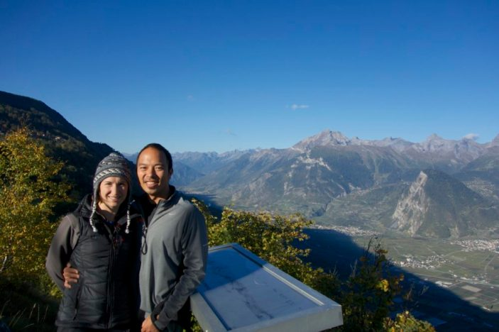 Nendaz geocaching and hiking, Switzerland | Intentional Travelers