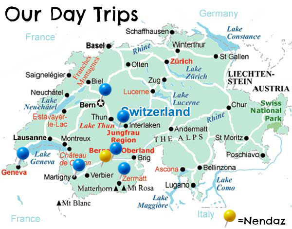 switzerlandmapdaytripsnendaz Intentional Travelers