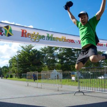 Reggae 10k Finish, Jamaica