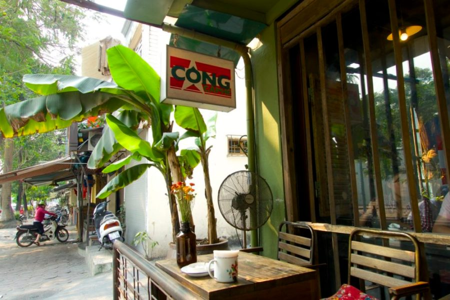 Cong Caphne, Coffee culture in Hanoi, Vietnam | Intentional Travelers