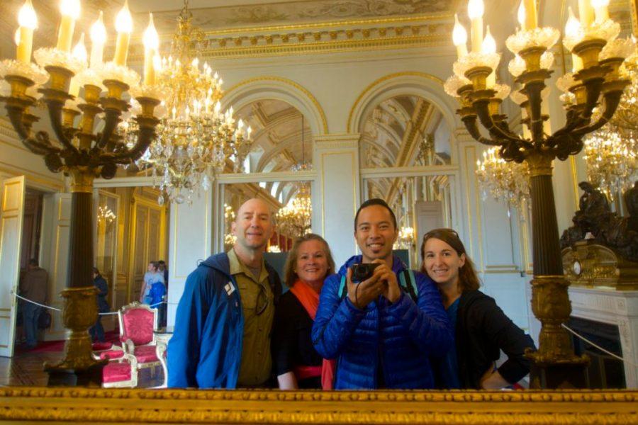 Brussels, Belgium mirror selfie