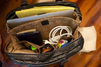 Clark & Mayfield carry-all Morrison leather laptop bag | Intentional Travelers