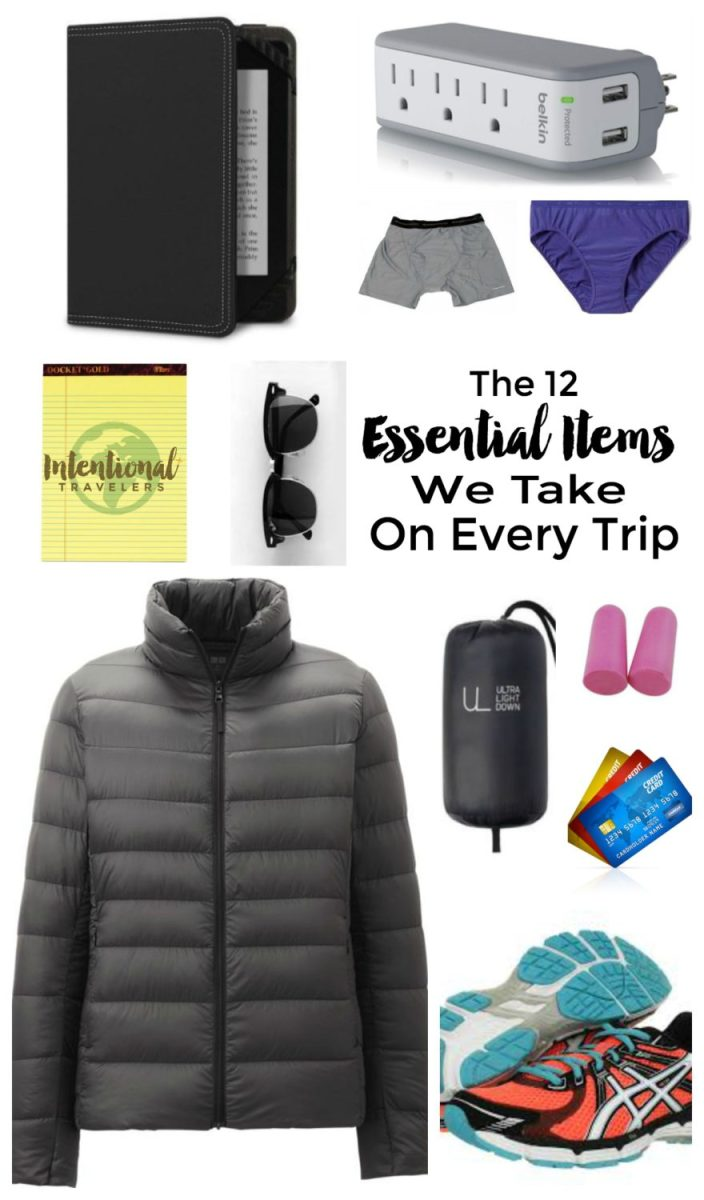 12 Items We Bring on Every Trip | Intentional Travelers