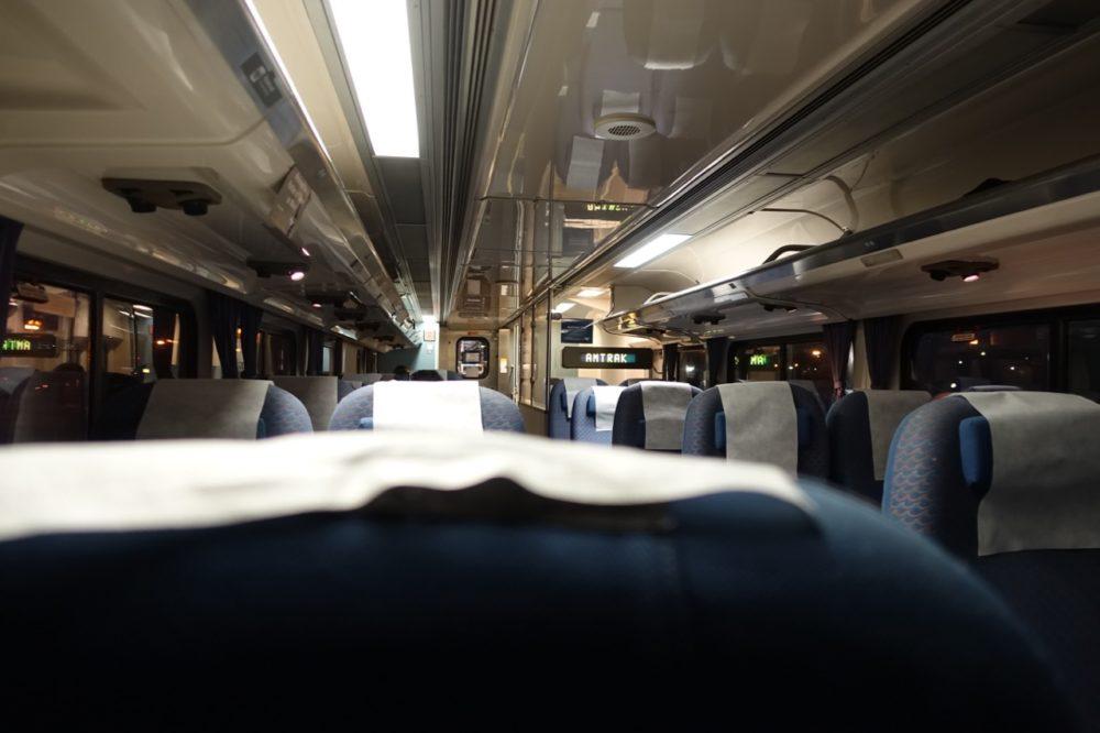 Overnight on Amtrak: California Surfliner and Pacific Coast