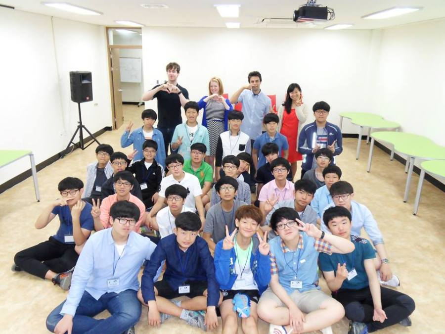 English immersion camp