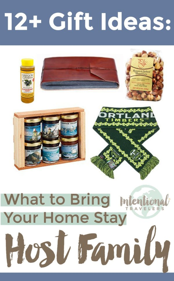 Tips and ideas for gifts to give to homestay host families abroad | Intentional Travelers