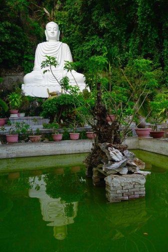 Marble Mountain garden
