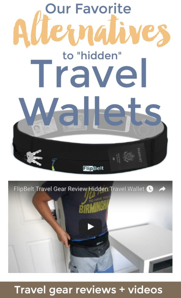 These work better! How to carry your valuables securely with alternatives to the typical travel wallet money belt. | Intentional Travelers