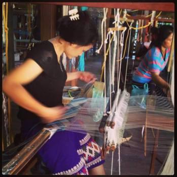 Traditional weaving Photo Credit: Adam Greenberg