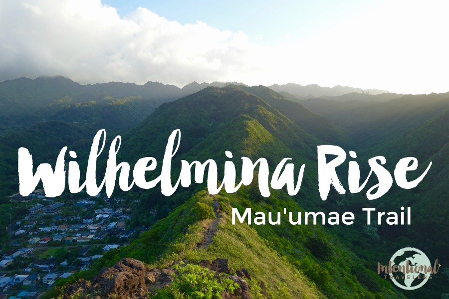 Wilhelmina Rise Mau'umae Trail Hike in Honolulu - Oahu, Hawaii