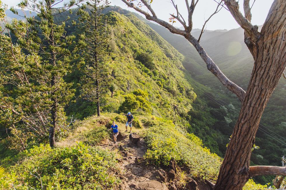 Mau'umae Hike Oahu Hawaii