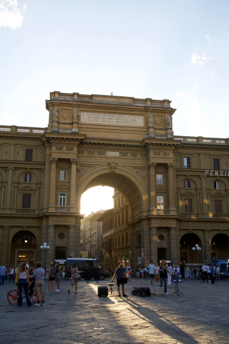 Italian Florence: Free Self Guided Walking Tour Of Florence Italy: One Or