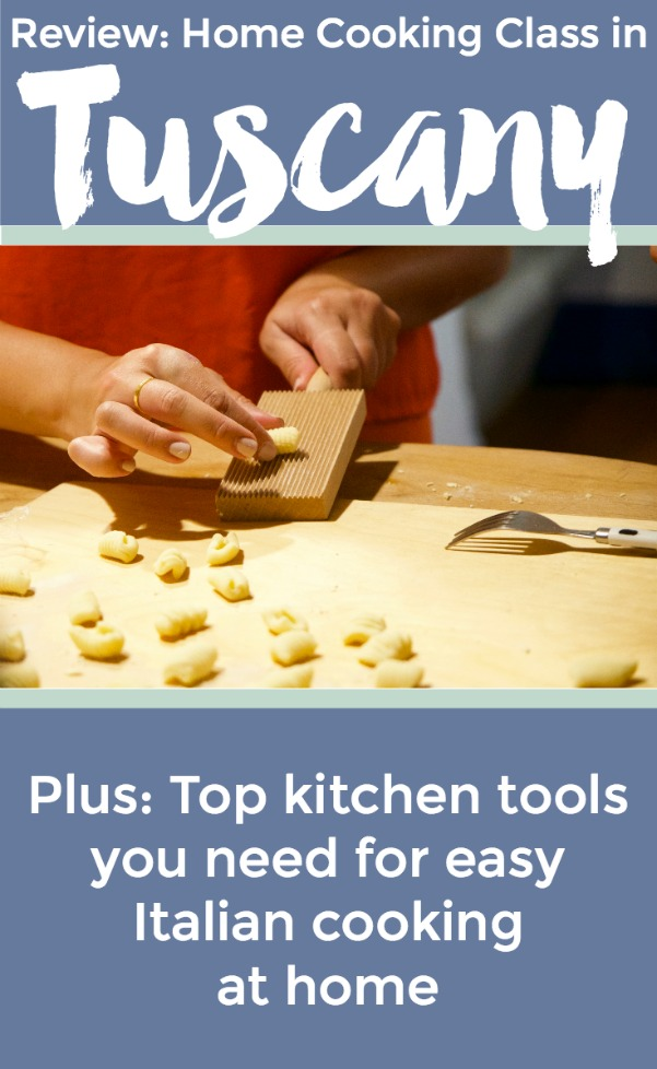 Cooking class review in Tuscany plus top kitchen tool recommendations for Italian home cooking | Intentional Travelers