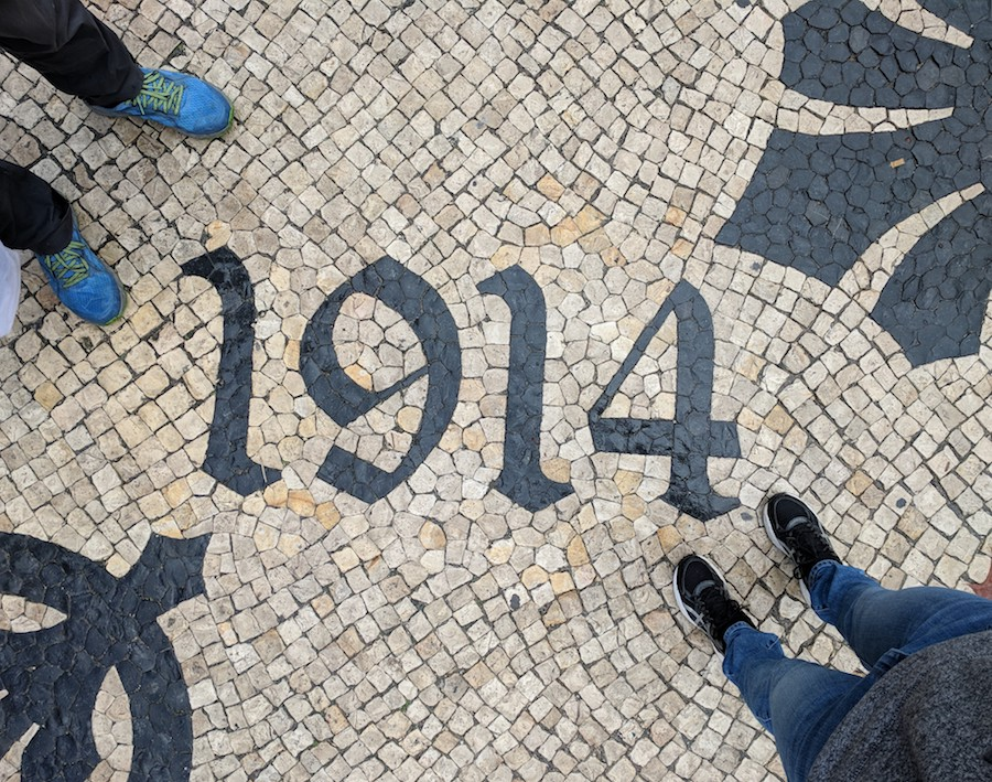 Sidewalk | Self Guided Walking Tour Itineraries for Three Days in Lisbon Portugal